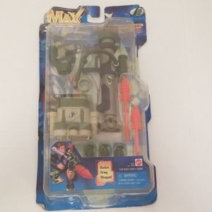 MAX STEEL SECRET COMMANDO BATTLE GEAR 1999